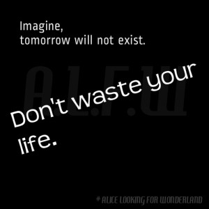 Quotes About Wasting Time...