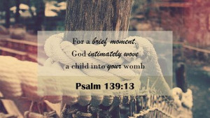 Comfort During a Miscarriage Psalm 139:13 #dandelions4emma #Grief # ...