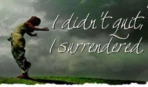 surrendered to God! ╬