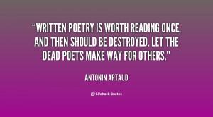 Antonin Artaud Quotes