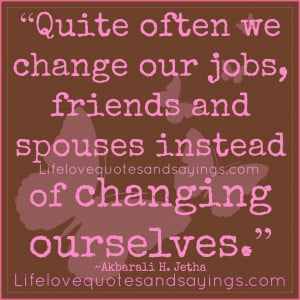 Sad Quotes About Friends Changing Friends and spouses