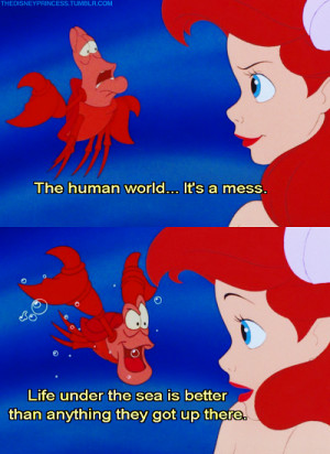 Little mermaid movie quotes wallpapers