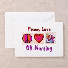 OB Nurse Greeting Card for