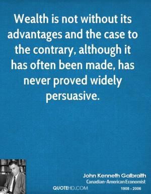 John Kenneth Galbraith Finance Quotes