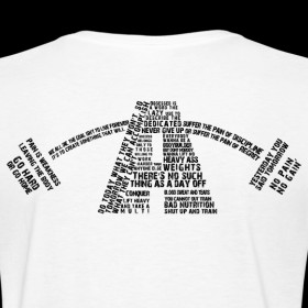 Design ~ Women's Alpha Quotes Logo (Black)