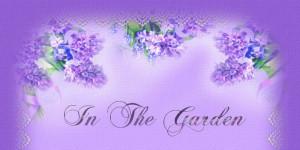 In The Garden-poem & music
