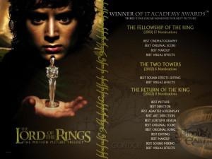 Description: 1024 x 768: A list of the Oscars won by LOTR