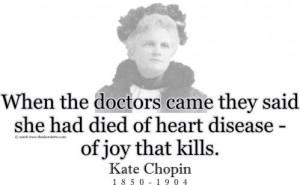 Kate chopin essay titles