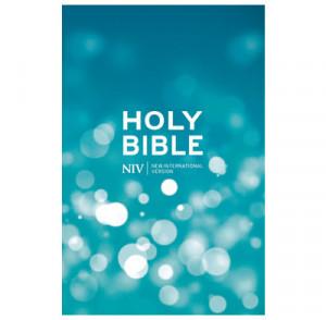 Aqua Hardback Bible (NIV)