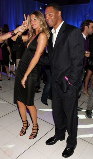 Marcus Allen Model Gisele Bundchen L And Football Player picture