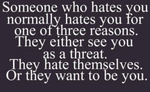 Hater Quotes