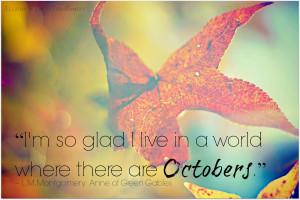 October Quotes for Kids