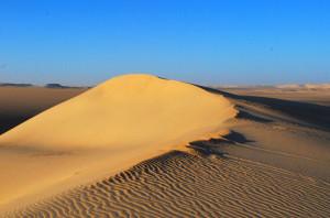 Egyptian Desert Sand Dunes