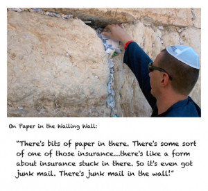 Karl's Quotes and Pictures From Jordan