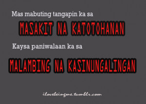 Tagalog Insulting Quotes