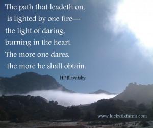 Blavatsky quote