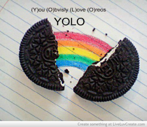 cute, funny, greyscale, love, oreos, pretty, quote, quotes, the ...