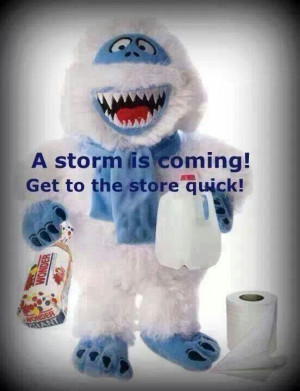 Storm is coming!