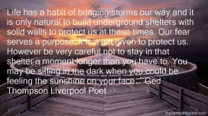 Ged Thompson Liverpool Poet Quotes Pictures