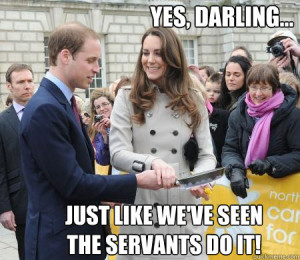 Royal Wedding humor
