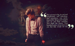 18 of Matt Smith's Best Doctor Who Lines