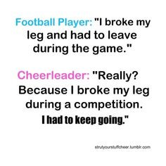 ... quotes funny, gymanstics quotes, funny cheerleading quotes, funny