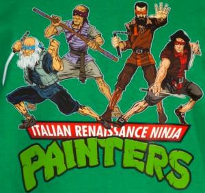 ... Mutant Ninja Turtles as Their Namesake Italian Renaissance Artists