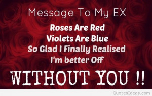 Ex girlfriend quotes on pictures