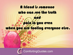Quotes About Feeling Friends Pain