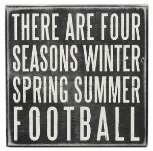 football season there are four season winter spring summer football