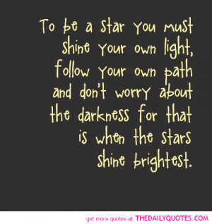 be-a-star-shine-bright-quote-motivation-quotes-sayings-pictures-pics ...