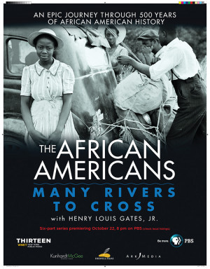 The African Americans: Many Rivers to Cross Series Poster