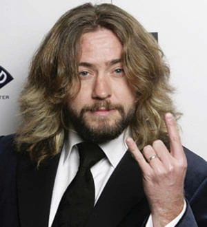 My 15 year old son who is quite the comedian and Justin Lee Collins ...