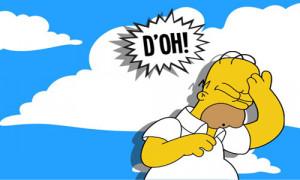 Doh Homer Simpson Air