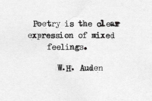 quote about love by wh auden