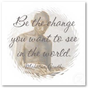 Motivational Quotes From Legendary Humanitarian: Mahatma Gandhi