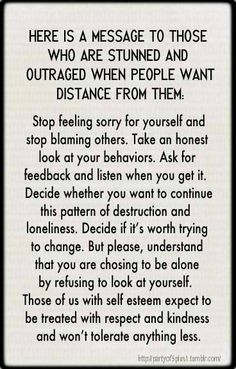 Stop feeling sorry for yourselves and stop blaming others... More