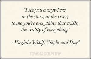 Virginia Woolf on love. #lovequotes #virginiawoolf #love #quotes