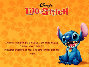 Lilo And Stitch Funny Quotes