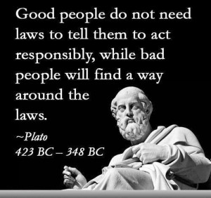 Plato~no kidding!