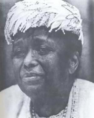 Ella Baker, organizer of several Civil Rights Movement initiatives ...