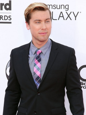 Lance Bass Singer Arrives...