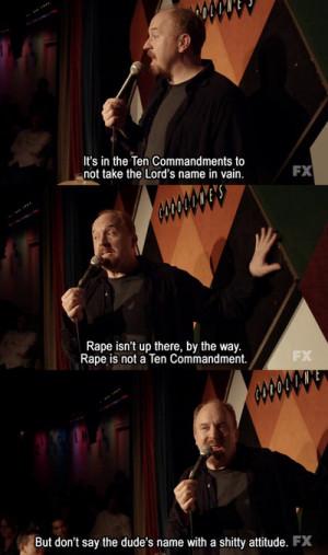Louis C.K. on Blasphemy