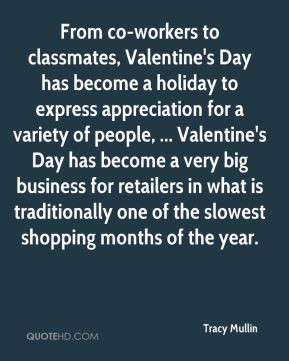 Tracy Mullin - From co-workers to classmates, Valentine's Day has ...