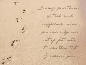 Quotes About Footprints In The Sand