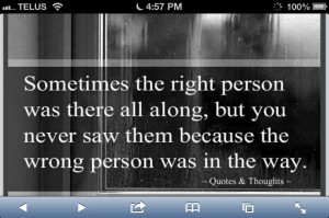 on finding the right person