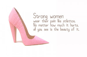 but a woman of strength kneels