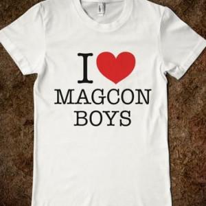 HEART LOVE MAGCON BOYS T-SHIRT (IDC100332)