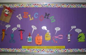 Welcome School Bulletin Board Ideas