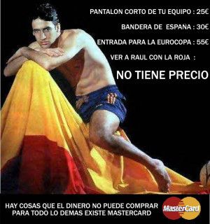 Raul GOnzalez Espantildea Real Madrid Image